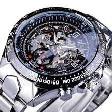 Load image into Gallery viewer, Skeleton Mechanic Luxurious Watch For Men J