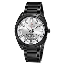 Load image into Gallery viewer, Stainless Steel Casual Masculine Watch For Men Black White