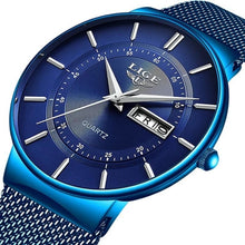 Load image into Gallery viewer, Stainless Steel Mesh Slim Mens Watch