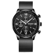 Load image into Gallery viewer, Stitched Steel Chronograph Watch For Men A