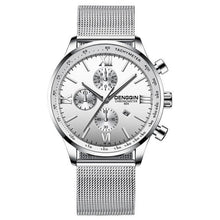 Load image into Gallery viewer, Stitched Steel Chronograph Watch For Men C