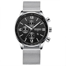 Load image into Gallery viewer, Stitched Steel Chronograph Watch For Men D
