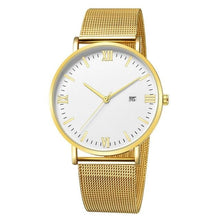 Load image into Gallery viewer, Ultra-Thin Stainless Steel Mesh Mens Watch B