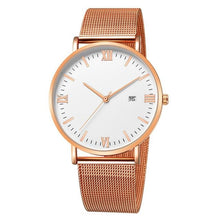 Load image into Gallery viewer, Ultra-Thin Stainless Steel Mesh Mens Watch E