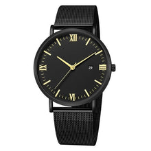 Load image into Gallery viewer, Ultra-Thin Stainless Steel Mesh Mens Watch H