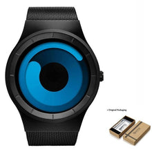 Load image into Gallery viewer, Unisex Futuristic Button-Less Slim Steel Watch E