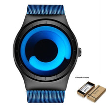 Load image into Gallery viewer, Unisex Futuristic Button-Less Slim Steel Watch G