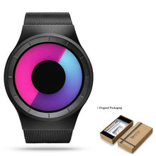 Load image into Gallery viewer, Unisex Futuristic Button-Less Slim Steel Watch H