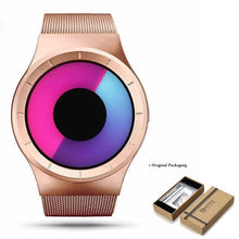 Load image into Gallery viewer, Unisex Futuristic Button-Less Slim Steel Watch J