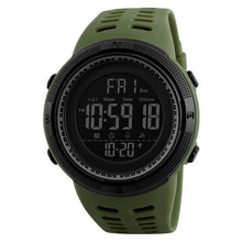 Load image into Gallery viewer, Unisex Sport Watch Chronograph Army Green