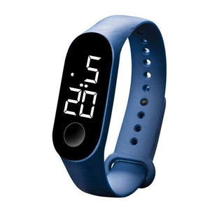Waterproof Sport Band For Men And Women Dark Blue