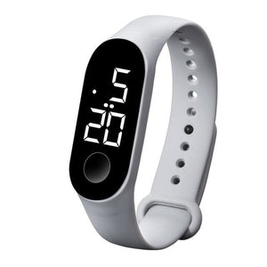 Waterproof Sport Band For Men And Women Gray