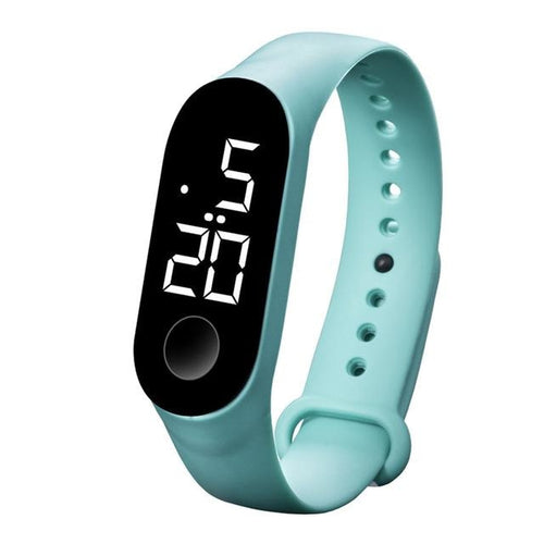 Waterproof Sport Band For Men And Women Mint Green