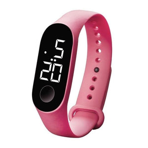 Waterproof Sport Band For Men And Women Pink