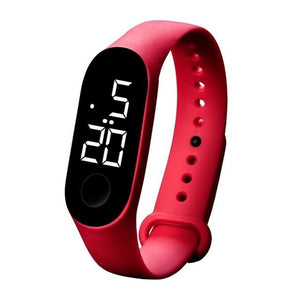 Waterproof Sport Band For Men And Women Red