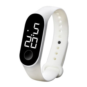 Waterproof Sport Band For Men And Women White