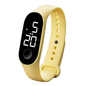 Waterproof Sport Band For Men And Women Yellow