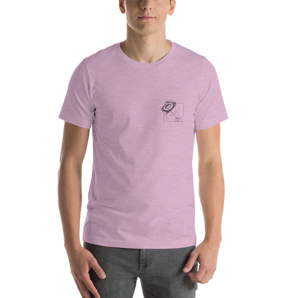 T-shirt - Boloo Space Pink