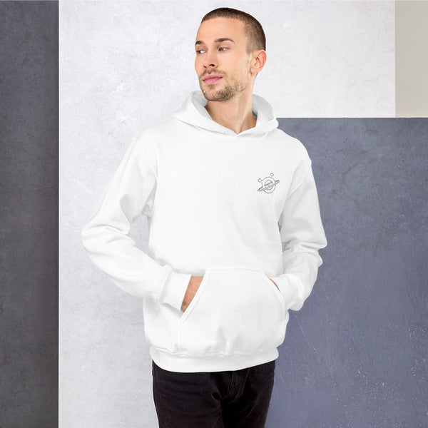 Hoodie - Boloo Float White