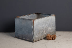 19th Century German Zinc Rectangular Planting Box