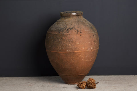 Large 18th Century Portuguese Olive Oil Jar