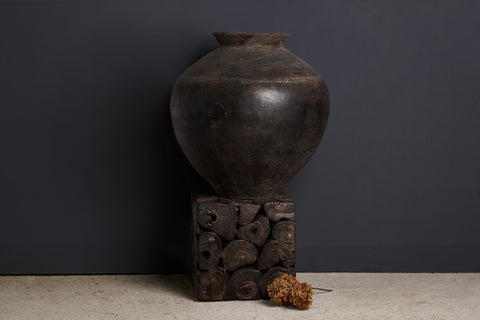 19th Century Large Terra Cotta Water Jar from Java