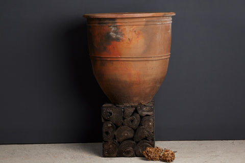 Extra Large Terra Cotta Flower Pot from Jakarta