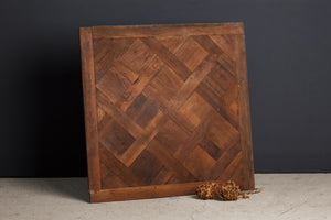 Hand Made Parquet de Versailles Panels from Reclaimed Wood