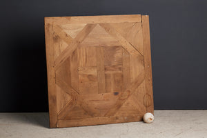 Hand Made Parquet de Chambord Panels from Reclaimed Wood