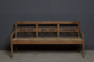 Sumatran Dutch Colonial Teak Bench