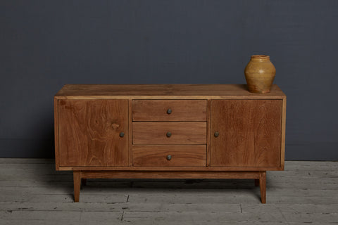 1940's Dutch Colonial Teak Buffet