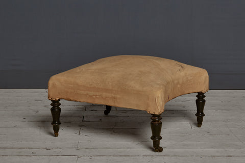 19th Century Shaped French Ottoman