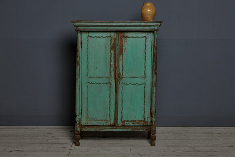 19th Century Dutch Colonial Teak Cabinet from Jakarta
