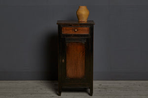Mission Style Dutch Colonial Teak Stand with One Drawer