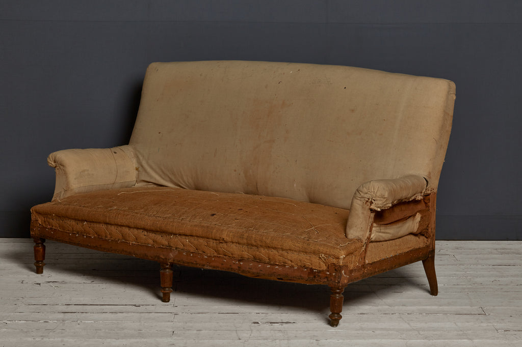 Prime Small 19Th Century French Tall Backed Sofa Ibusinesslaw Wood Chair Design Ideas Ibusinesslaworg