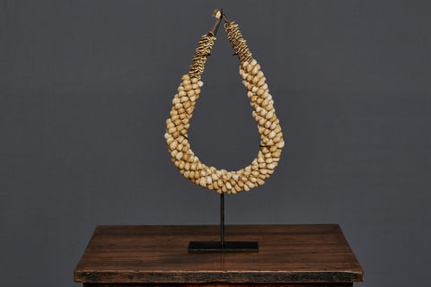 Mounted Shell Necklace from Papua