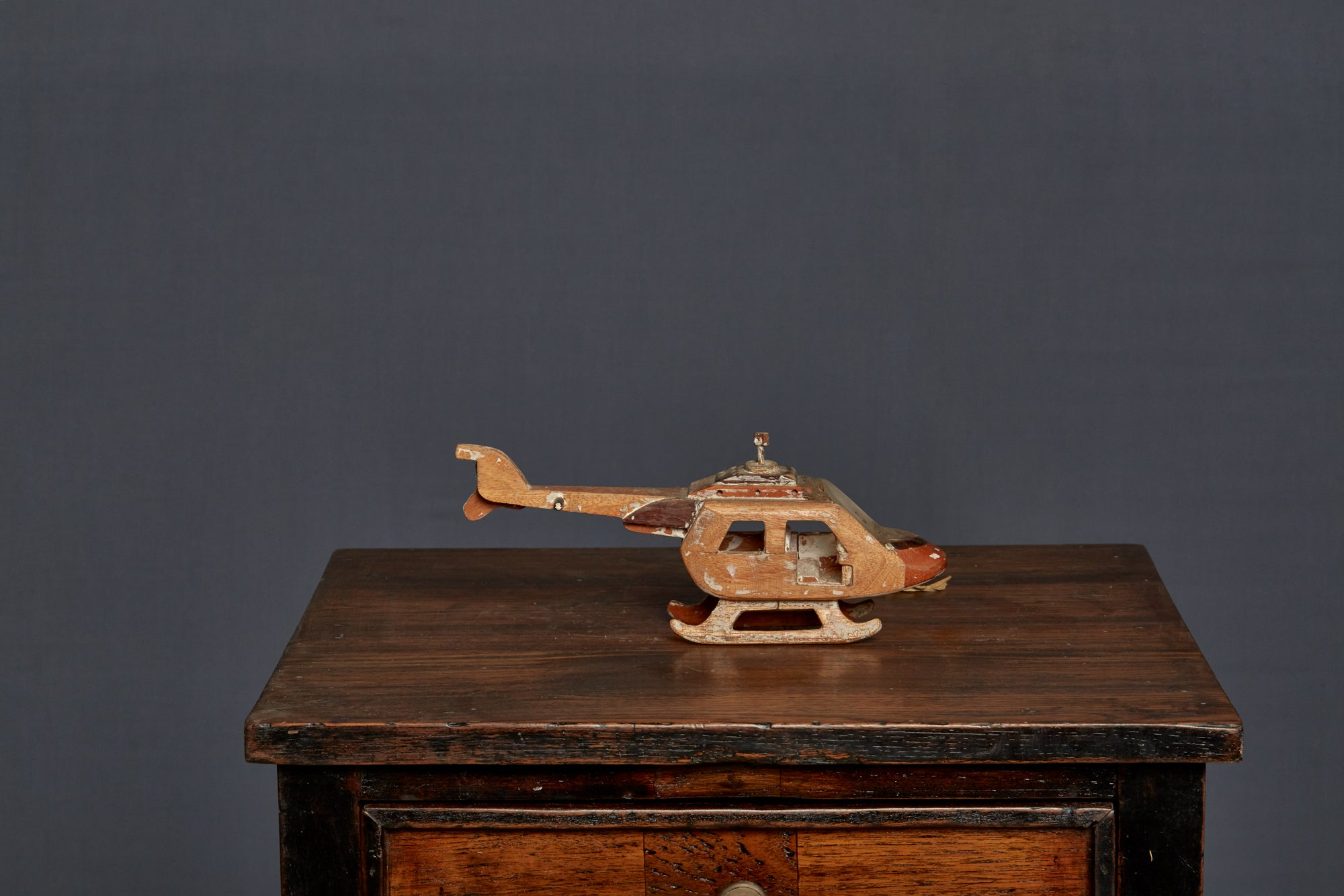 Toy Wooden Helicopter from Java