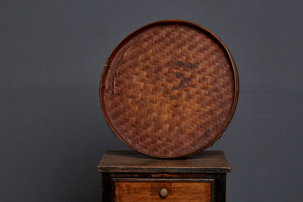 Round Wooden Bamboo Factory Tray