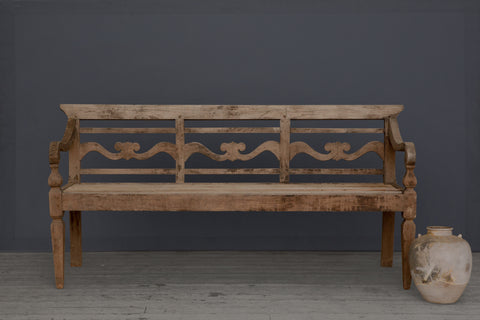 Copy of Classic Style Dutch Colonial Teak Bench