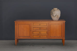 19th Century French Fruite Wood Buffet