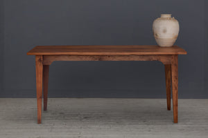 Long Dutch Colonial Teak Dining Table from Java