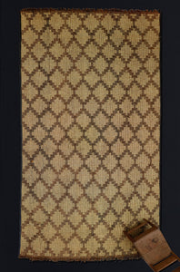 Large Step Diamond Tuareg Carpet.............. (8'x15'7'')