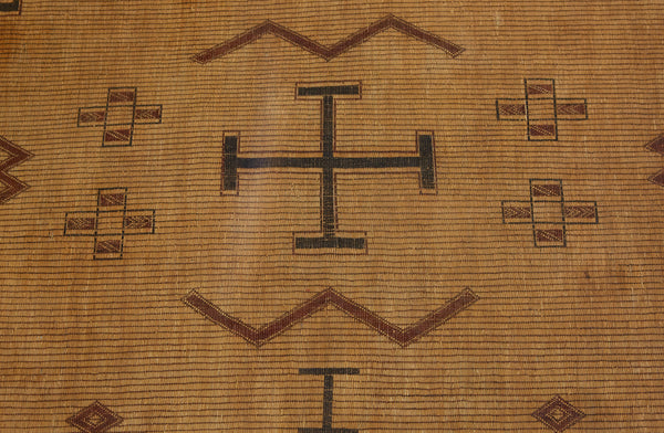 Crosses & W's Early Tuareg Mat  .............. (8'4'' x 11'7'')