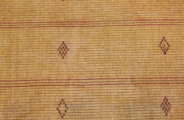Early Tuareg Carpet with Diamonds & Bands .............. (7'2'' x 15'9'')