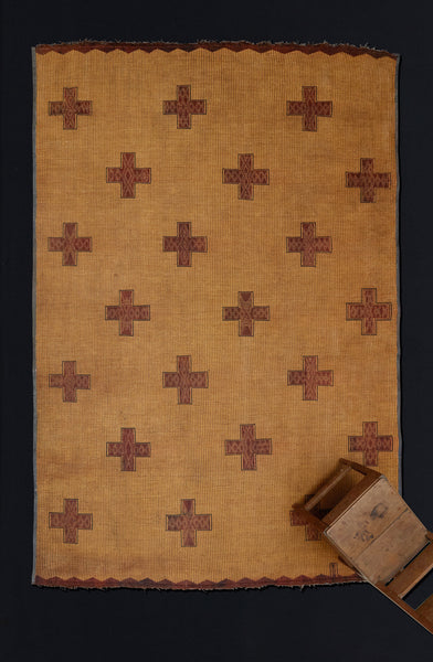 Early Tuareg Carpet with Field of Crosses .............. (8'8'' x 11'11'')