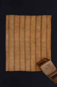 Early Tuareg Mat with 8 Stripes .............. (7'2'' x 9'1'')