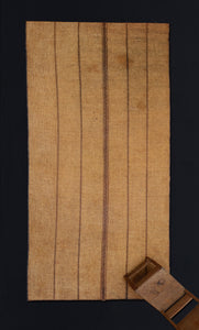 Early Tuareg Mat with 5 Bands .............. (6'10'' x 16'11'')