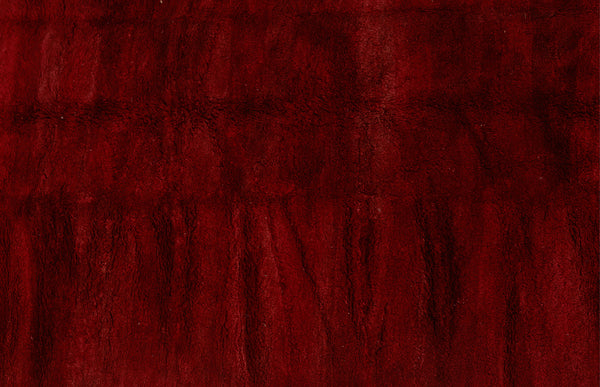 Medium Sized Red Field Chichaoua Carpet .................. (5'8''x8'2'')