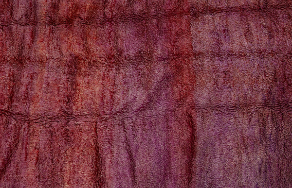 Large Dark Lilac Chichaoua Carpet ................... (6'10''x10'7'')