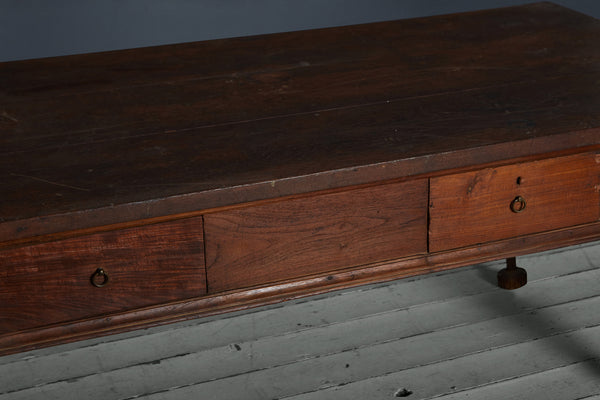 18th Century Dutch Colonial Planter Desk from Batavia